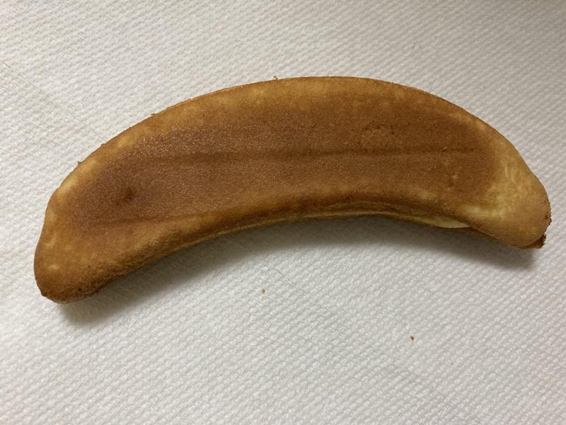 バナナ カステラ 裏側