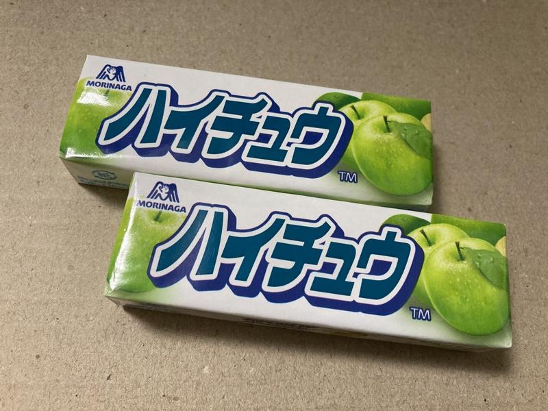 森永 ハイチュウ 青りんご