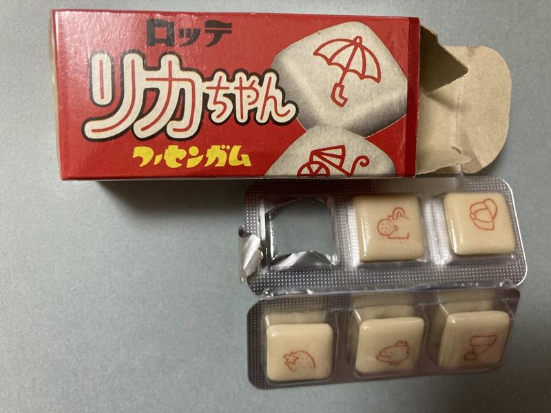 リカちゃん ロッテ ガム