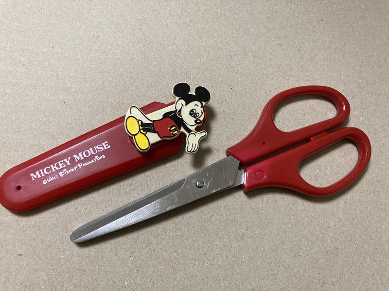 ミッキーマウス 昭和50年 はさみ
