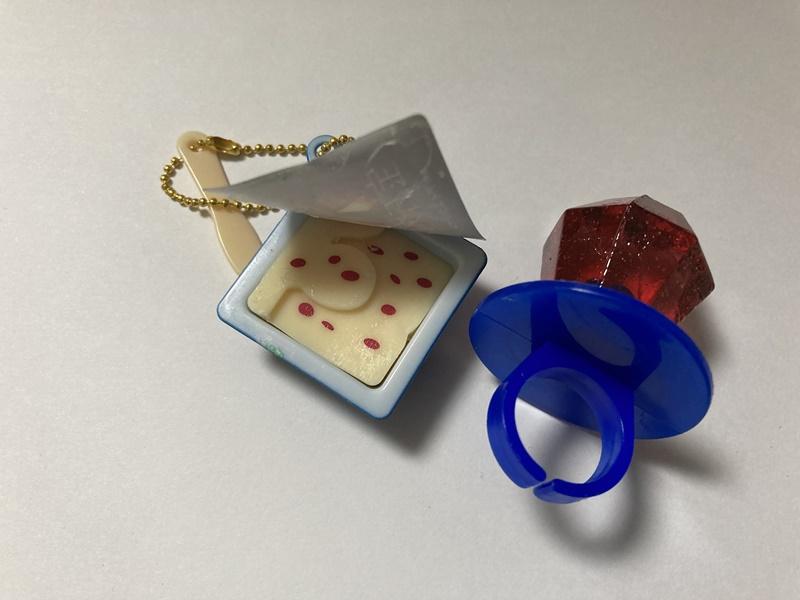 昭和レトロ 指輪キャンディー
