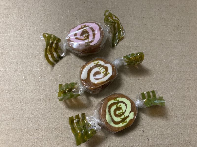 うずまきキャンディー 昭和レトロ